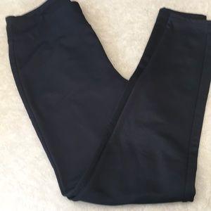 Simply Vera stretch pants, black, size L, New
